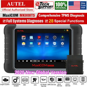 Autel Mk808ts Obd2 Scanner Code Reader Tpms Programming Car Diagnostic Scan Tool