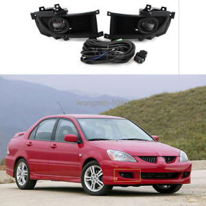 For Mitsubishi Lancer 2004 2005 2006 Halogen Fog Light Lamp wiring switch Kit