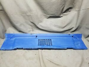 Jeep Wrangler Tj 97 06 Single Vent Fresh Air Cowl Vent Cover Louver Oem Factory