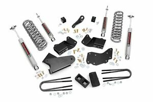 Rough Country 4 Lift Kit Fits 1984 1990 Bronco Ii 4wd W N2 Shocks Suspension