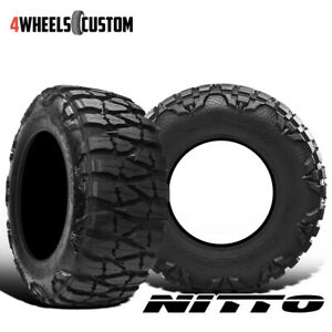 2 X New Nitto Mud Grappler X Terra 35 1250r20 121q Mud Terrain Tire