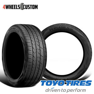 2 X New Toyo Versado Noir 205 55r16 91v Standard Touring All season Tire