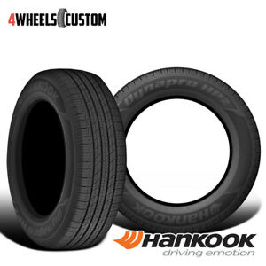 2 X New Hankook Ra33 Dynapro Hp2 255 60r17 106v High Performance Tire