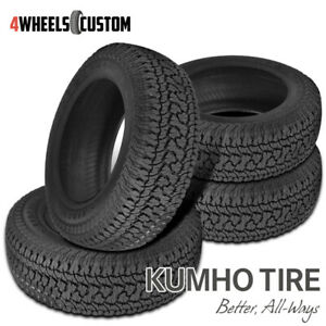 4 X New Kumho At51 Road Venture At 265 75r16 114t All Terrain Handling Tire