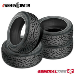 4 X New General Grabber Uhp 305 45r22 118v Summer Performance Tire