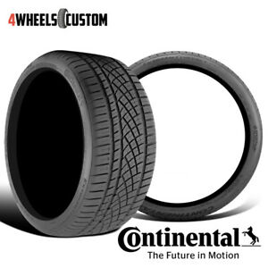 2 X New Continental Extremecontact Dws06 205 55r16 91w All Season Radial Tire