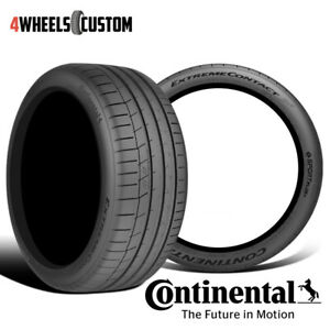 2 X New Continental Extremecontact Sport 285 35r19 99y Performance Summer Tire