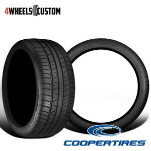 2 X New Cooper Zeon Rs3 G1 255 45r20 101w Tires