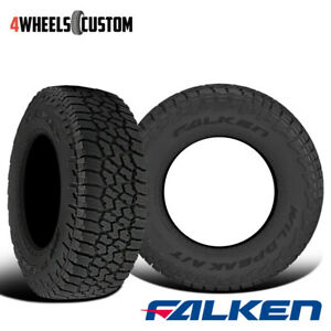 2 X New Falken Wild Peak A t3w 265 70r16 112t Rbl All Terrain Any Weather Tires