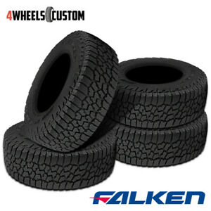 4 X Falken Wild Peak A T3w 265 60r18 114t Rf Rbl All Terrain Any Weather Tires