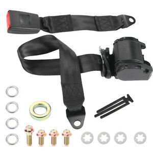 Easy Install 3 Point Universal Retractable Safety Seat Belt Mount Diagonal Belt