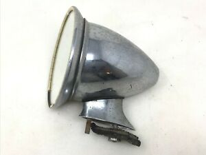 Vintage Bullet Sports Car Side View Mirror Mg Triumph Jaguar