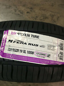 4 New 235 55 19 Nexen N Fera Ru5 Tires