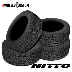 4 X New Nitto Terra Grappler G2 295 70r18 116s Tires