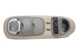 00 01 02 03 04 05 Ford Excursion Overhead Console Climate Control Map Light