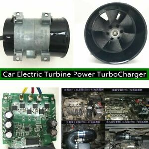 380w 12v Car Auto Electric Turbo Fan Turbo Charger Tan Boost Intake Fans control