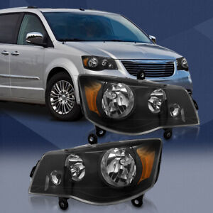 Fit For 2011 2018 Dodge Grand Caravan 2008 2016 Chrysler Town Country Headlights