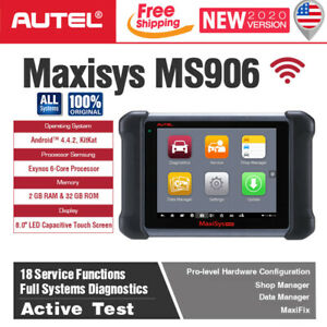 Autel Maxisys Ms906 Auto Diagnostic Code Reader Obd2 Scanner All Systems Abs Srs