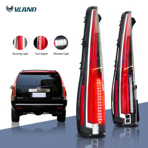 Led Tail Lights For 2007 2014 Cadillac Escalade Esv Red Rear Lamp 2016 Version