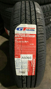 4 New 175 70 14 Gt Radial Maxtour All Season Tires
