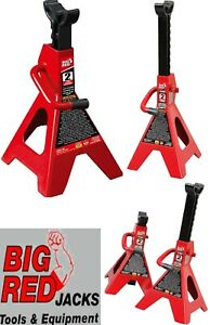 Lightweight Steel Jack Stands Double Locking Pawl Torin 2 Ton Capacity Set Of 2