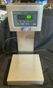 Weigh Tronix Stainless Steel Digital Scale Model Number Qc 3265
