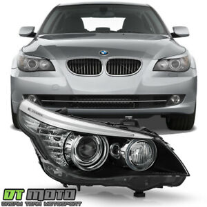 2008 2010 Bmw E61 5 series Hid xenon W afs Projector Headlight Rh Passenger Side
