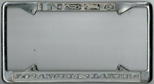 Los Angeles California Nba Lakers Vintage Sports License Plate Frame