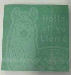 Llama Sticky Notes Set Of 3 Great For The Office gifts Brand New Unopened
