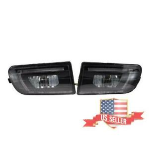 For Toyota Corolla Ae100 Ae101 1993 99 1 Pair Front Bumper Clear Fog Light Lamp