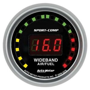 Autometer 3379 Sport Comp Digital Wideband Air Fuel Ratio Gauge