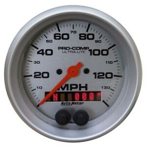 Autometer 4481 Ultra lite Air core Gps Speedometer 140 Mph 5 Inch