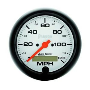 Autometer 5887 Phantom Air Core Speedometer 120 Mph 3 3 8 Inch