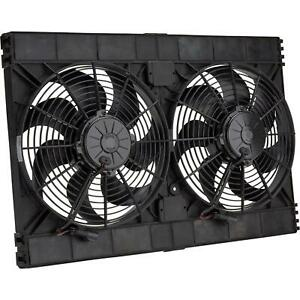 Spal 30102130 Dual Electric Cooling Fan Straight Blade 12 Inch