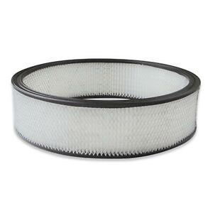 Holley 220 45 Air Filter Replacement 16 X 4 Inch Paper Filter