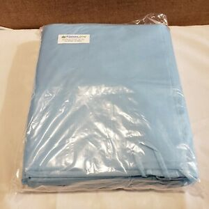10 Isolation Gown With Knit Cuff Disposable Dental Medical Ppe Blue