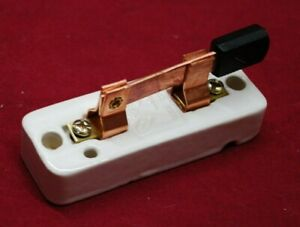 Porcelain Knife Switch Gas Engine Motor Buzz Coil Hit Miss