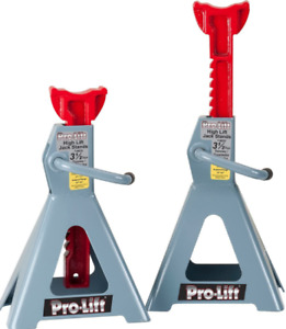 Pro lift T 9635 High Lift Jack Stand Gray Color With 3 5 Ton Capacity Freeship