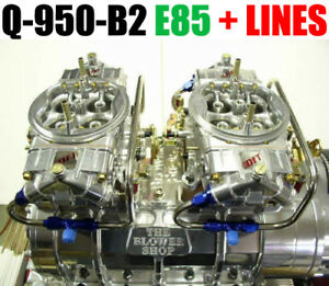 Quick Fuel Q 950 b2 E85 950 Cfm Blower Supercharger Carbs Clear Color