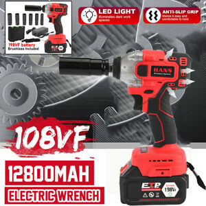 16800mah 1 2 Electric Brushless Cordless Impact Wrench High Torque Drill Tool