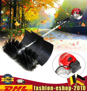 2stroke 52cc Gas Power Sweeper Hand Held Electric Brush Broom Cleaner 2 3hp Dhl