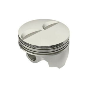 Icon Ic957 030 Chevy 305 Forged Pistons Flat Top 5 7 Inch Rod