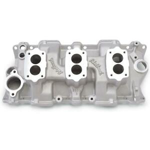 Edelbrock 5419 1955 86 Small Block Chevy Three Deuce Intake Manifold