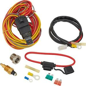 Speedway Electric Fan Relay Wiring Kit 185 Degree On