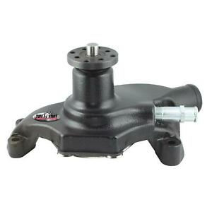 Tuff Stuff 1354ncs Sbc Short Aluminum Water Pump Black