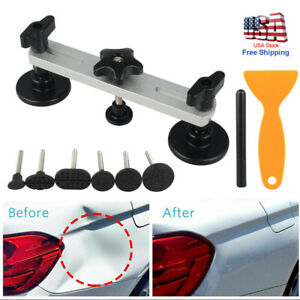 Car Paintless Dent Repair Puller Bridge Tab Car Body Hail Dent Removal Tool Kit