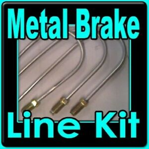 Brake Line Kit Fits Jeep Jeepster 1967 1968 1969 1970 1971 With Power Brakes