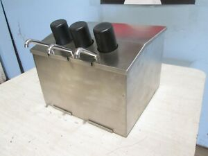 abc Wb cd 3 3 4 ssct H d Commercial Counter Top Bar food Condiment Dispensers