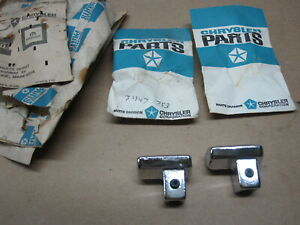 Nos 1968 1969 Mopar B body Gtx Super Bee Seat Back Latch Relese Knob 3447753