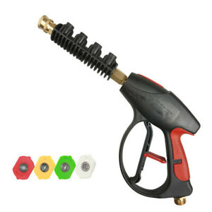 Pressure Washer Lance 3000 Psi With 4 color Pressure Water Washer Nozzles Us